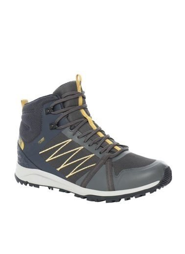 The North Face The North Face Litewave Fastpack II Mid Waterproof Erkek Ayakkabı Gri Renkli